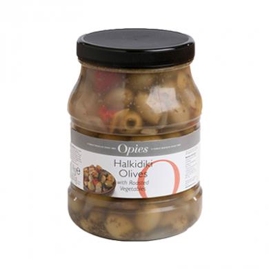 Opies - Halkidiki Olives with Roasted Vegetables (1.4kg)
