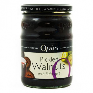 Opies - Pickled Walnuts with Rich Ruby Port (370g)