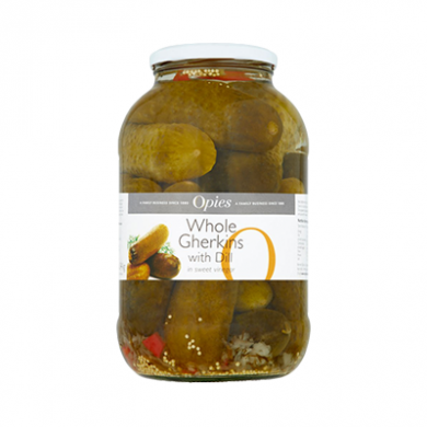 Opies - Whole Gherkins with Dill (1.9kg)