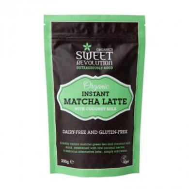 Organic Vegan Instant Matcha Latte (200g)