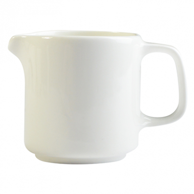 Orion Creamer - 120ml (4.2oz) - White Porcelain