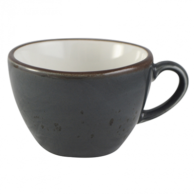 Elements Cappuccino Cup (285ml) - Slate Grey