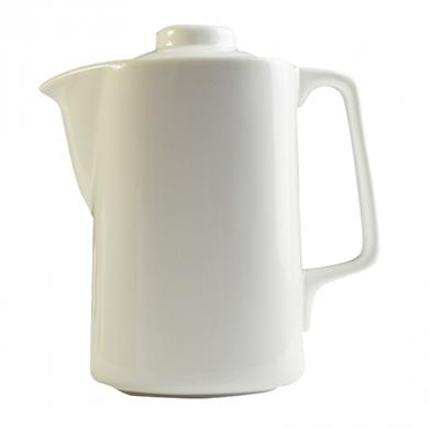 Orion Coffee Pot - White Porcelain (1.1 litres)