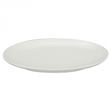 Orion Coupe Oval Platter (31cm) - White Porcelain