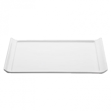 Orion Display Plate (27.5cm) - White Porcelain