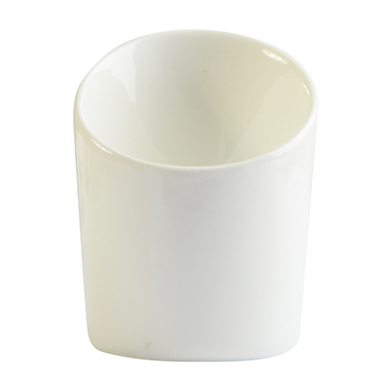 Orion French Fry Cup (11cm) - White Porcelain