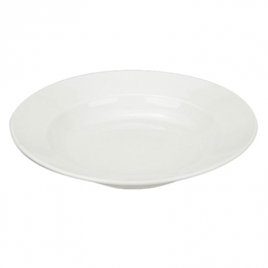 Orion Pasta Plate - White Porcelain (30cm)