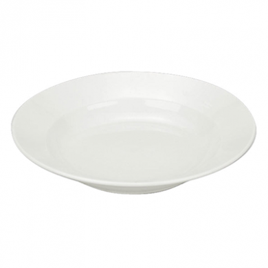 Orion Soup Plate (22.5cm) - White Porcelain