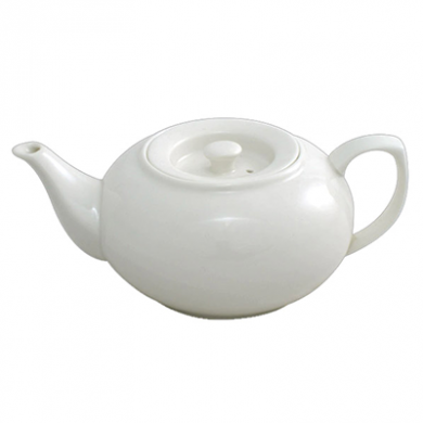 Orion Stackable Teapot (950ml) - White Porcelain