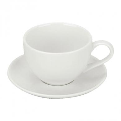 Orion Tea Saucer (14.5cm) - White Porcelain