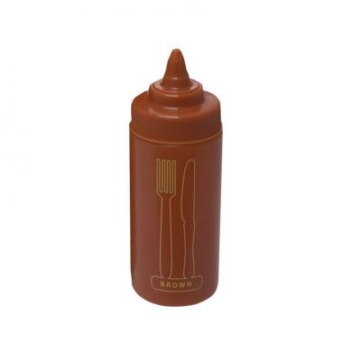 Brown Sauce Squeeze Bottle (16oz)