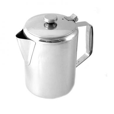 Economy Coffee Pot Stainless Steel (12oz)