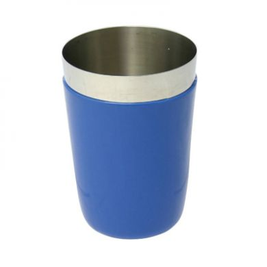 Vinyl Coated Stainless Steel Cup (Blue) - WAS £2.99
