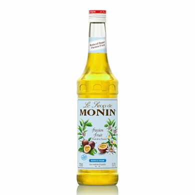 Monin Syrup - Passion Fruit (Reduced Sugar) 70cl