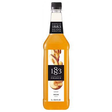 Routin 1883 Syrup - Peach (1 Litre) - Plastic Bottle