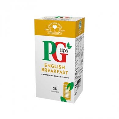 PG Tips - English Breakfast Tea Bags (57.5g) - Pk of 25