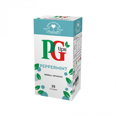 PG Tips - Peppermint Tea Bags (27.5g) - Pk of 25