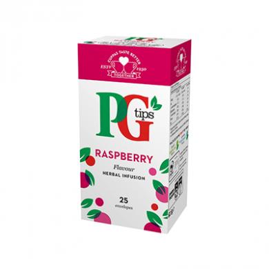 PG Tips - Raspberry Tea Bags (62.5g) - Pk of 25