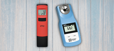 Kitchen PH Meters and Refractometers