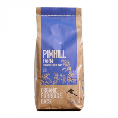 Pimhill Farm - Organic Porridge Oats (850g)