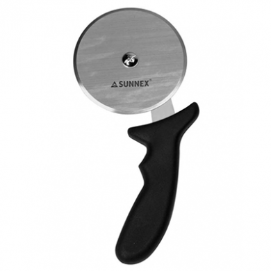 Pizza Wheel Cutter - 10cm/4 inches (Black Handle)