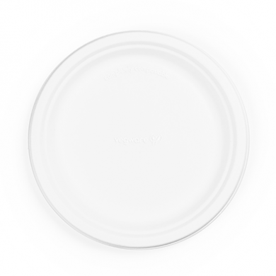 Bio Compostable Plates - 9inch (Pack of 50)