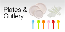 Bio Compostable Plates and Cutlery