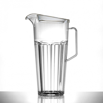 Polycarbonate - Elite Remedy Jug Clear (1700ml) w/ LID