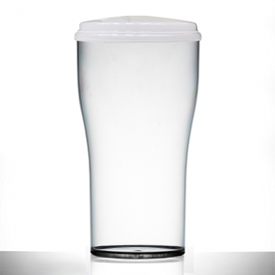 Polycarbonate - Tulip 2-PINT Glass (1136ml/40oz) CE Marked W