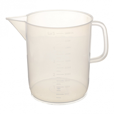 Polypropylene Measuring Jug w/ Handle (250ml)
