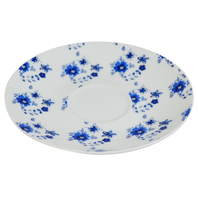 Porcelain Afternoon Tea Forget-me-not Saucer 6 inch (15cm)