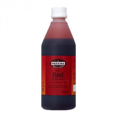 Preema - Natural Red Food Colour (500ml)