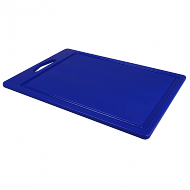Food Prep Chopping Board - Blue (35cm x 25cm)