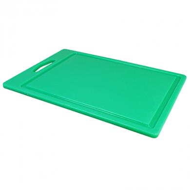 Food Prep Chopping Board - Green (35cm x 25cm)