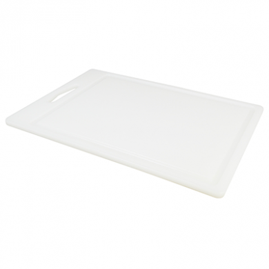 Food Prep Chopping Board - White (35cm x 25cm)