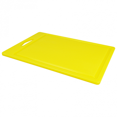 Food Prep Chopping Board - Yellow (35cm x 25cm)