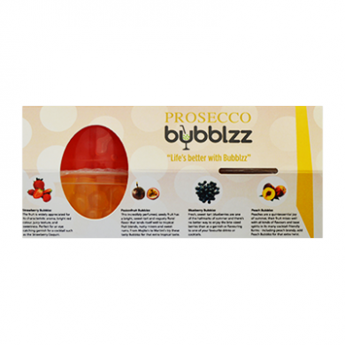 Bubblzz - PROSECCO Kit of 4 Flavours (4 x 100g)