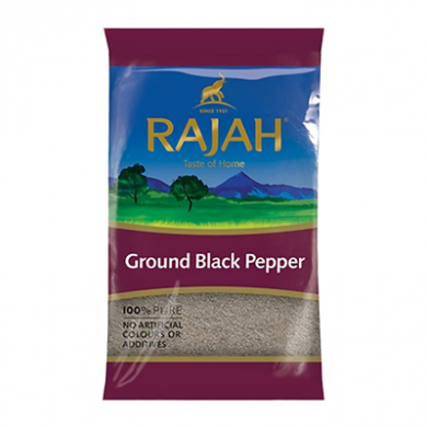 Rajah Ground Black Pepper (400g)