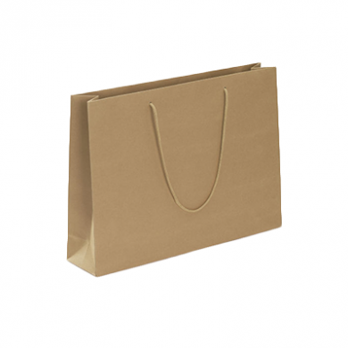 Recycled Kraft Paper Gift Bag (180 x 220 x 65mm)