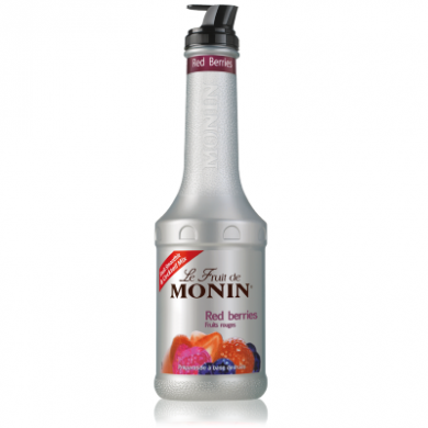 Monin Fruit Puree - Red Berries (1 Litre)