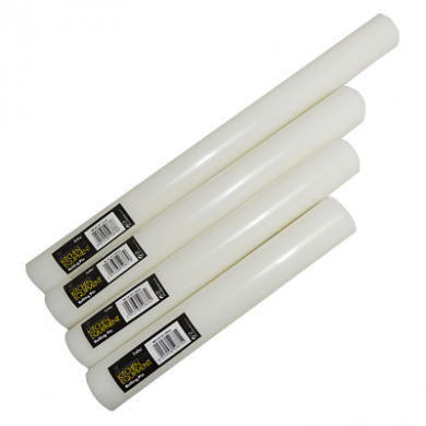 White Rolling Pin (40cm/16 inches)