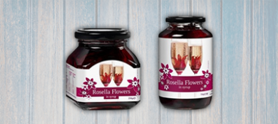 Drinks - Rosella Flowers