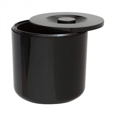 Round Ice Bucket Black (4 Litre)