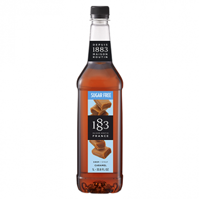 Routin 1883 Syrup - Caramel - Sugar Free (1 Litre) - Plastic