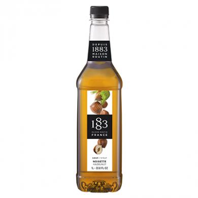 Routin 1883 Syrup - Hazelnut (1 Litre) - Plastic Bottle