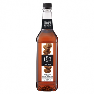 Routin 1883 Syrup - Salted Caramel (1 Litre) - Plastic Bottl