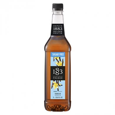 Routin 1883 Syrup - Vanilla - Sugar Free (1 Litre) - Plastic