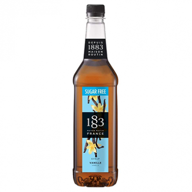 Routin 1883 Syrup - Vanilla - Sugar Free (70cl) - Glass Bott