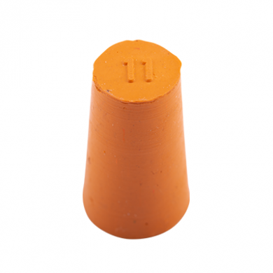 Rubber Bung (Base Dia 11mm)