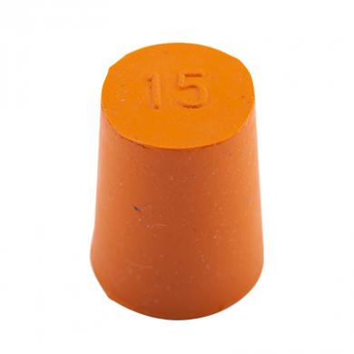 Rubber Bung (Base Dia 15mm)